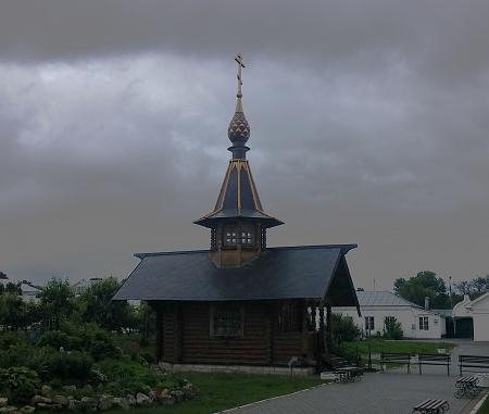 Нажмите на изображение для увеличения Название: Здание со святой водой в монастыре.jpg Просмотров: 14 Размер:84.5 Кб ID:896