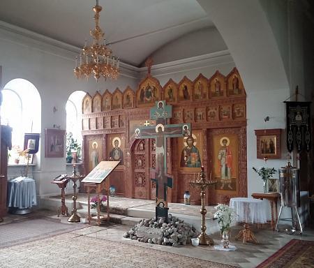 Нажмите на изображение для увеличения Название: Церковь святителя Ноколая (Николы Гостиного) внутренее убранство.jpg Просмотров: 14 Размер:89.6 Кб ID:905
