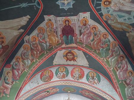 Нажмите на изображение для увеличения Название: Крестовоздвиженский собор фрески.jpg Просмотров: 24 Размер:94.8 Кб ID:900