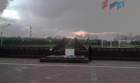 Нажмите на изображение для увеличения Название: Памятник павшим воинам.jpg Просмотров: 208 Размер:97.3 Кб ID:888